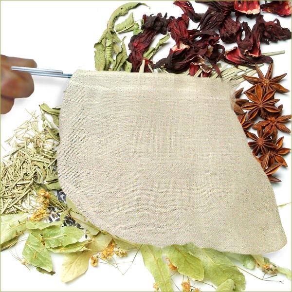 Chaussette filtre tisane